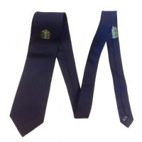 100% Silk Tie with University Coat of Arms